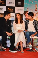Alia Bhatt, Sidharth Malhotra, Fawad Khan at Kapoor and Sons Success Meet on 25th March 2016