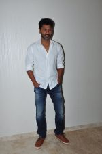 Prabhu Dheva snapped at Telugu film Oopiri screening on 25th March 2016