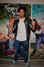 Sidharth Malhotra at Kapoor and Sons Success Meet on 25th March 2016