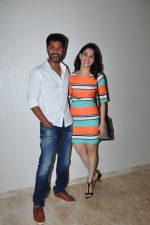 Tamannaah Bhatia, Prabhu Dheva snapped at Telugu film Oopiri screening on 25th March 2016