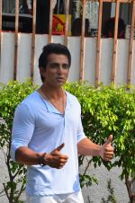 Sonu Sood during the ad shoot of Texmo Pipe Fittings in Mumbai on March 26, 2016 (27)_56f7cfb4c827e.JPG