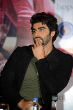 Arjun Kapoor at Ki and KA meet in Delhi on 28th March 2016