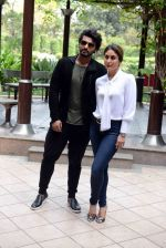 Kareena Kapoor, Arjun Kapoor at Ki and KA meet in Delhi on 28th March 2016