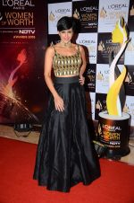 Mandira Bedi at NDTV Loreal Women of Worth Awards on 28th March 2016