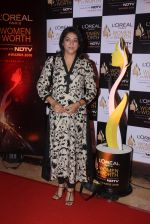 Priya Dutt at NDTV Loreal Women of Worth Awards on 28th March 2016