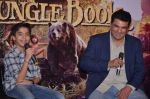 Siddharth Roy Kapoor with Neel Sethi aka Mowgli at Jungle Book press meet on 28th March 2016
