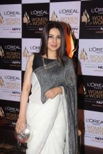 Tisca Chopra at NDTV Loreal Women of Worth Awards on 28th March 2016