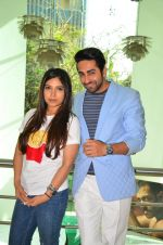 Bhumi Pednekar, Ayushmann Khurrana at Dum Laga Ke Haisha press meet in Mumbai on 29th March 2016 (100)_56fbaf8d402a1.JPG
