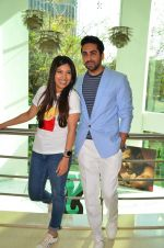 Bhumi Pednekar, Ayushmann Khurrana at Dum Laga Ke Haisha press meet in Mumbai on 29th March 2016 (102)_56fbaf8f74713.JPG