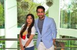 Bhumi Pednekar, Ayushmann Khurrana at Dum Laga Ke Haisha press meet in Mumbai on 29th March 2016 (104)_56fbaf91ee32b.JPG