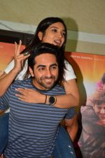 Bhumi Pednekar, Ayushmann Khurrana at Dum Laga Ke Haisha press meet in Mumbai on 29th March 2016 (110)_56fbafb8e00a9.JPG