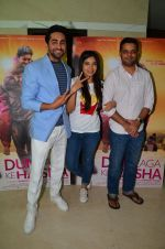Bhumi Pednekar, Ayushmann Khurrana at Dum Laga Ke Haisha press meet in Mumbai on 29th March 2016 (59)_56fbaf8c4d855.JPG