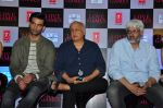 Gaurav Arora, Mahesh Bhatt, Vikram Bhatt at T-series film Love Games press meet on 29th March 2016 (47)_56fbb3b14ec83.JPG