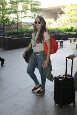 Hazel Keech snapped at airport on 29th March 2016
