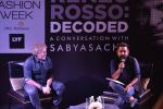 Renzo Rosso Decoded in conversation with Sabyasachi Mukherjee on 30th March 2016