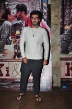 Arjun Kapoor at Ki and Ka screening on 30th March 2016