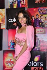 Amruta Khanvilkar at Colors Marathi Awards on 1st April 2016 (16)_56ffbafd4188f.JPG