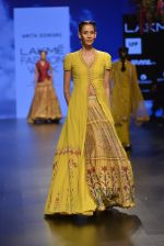Model walks for Anita Dongre Show at LIFW 2016 Day 3 on 1st April 2016 (620)_56ffb778efe3f.JPG