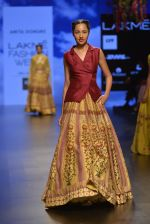 Model walks for Anita Dongre Show at LIFW 2016 Day 3 on 1st April 2016 (629)_56ffb789d54eb.JPG