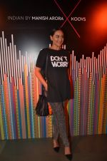 Sonakshi Sinha at Indian by Manish Arora for Koovs.com on 1st April 2016