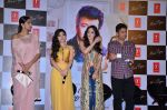 Sonam Kapoor , Tulsi Kumar, Bhushan Kumar at Tulsi Kumar album launch on 1st April 2016