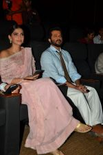 Sonam Kapoor, Anil Kapoor at Tulsi Kumar album launch on 1st April 2016