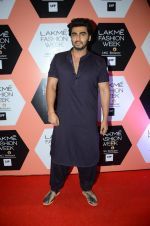Arjun Kapoor on Day 4 at Lakme Fashion Week 2016 on 2nd April 2016