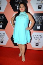 Bharti Singh on Day 4 at Lakme Fashion Week 2016 on 2nd April 2016