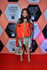 Huma Qureshi on Day 4 at Lakme Fashion Week 2016 on 2nd April 2016