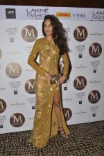 Lisa Haydon on Day 4 at Lakme Fashion Week 2016 on 2nd April 2016