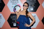 Sana Khan on Day 4 at Lakme Fashion Week 2016 on 2nd April 2016