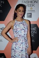 Sandeepa Dhar on Day 4 at Lakme Fashion Week 2016 on 2nd April 2016