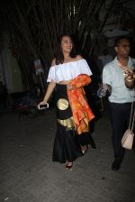 Sonakshi Sinha snapped leaving a club at Lower Parel on 2nd April 2016