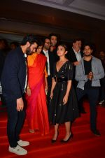 Alia Bhatt, Fawad Khan, Ratna Pathak Shah, Rishi Kapoor, Sidharth Malhotra, Karan Johar at Kapoor n Sons success bash on 3rd April 2016