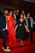Alia Bhatt, Fawad Khan, Ratna Pathak Shah, Rishi Kapoor, Sidharth Malhotra, Karan Johar, Shakun Batra at Kapoor n Sons success bash on 3rd April 2016