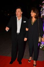 Neetu Singh, Rishi Kapoor at Kapoor n Sons success bash on 3rd April 2016