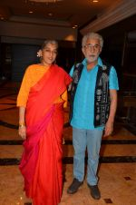 Ratna Pathak Shah, Naseeruddin Shah at Kapoor n Sons success bash on 3rd April 2016