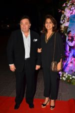 Rishi Kapoor, Neetu Singh at Kapoor n Sons success bash on 3rd April 2016