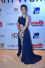 Sana Khan at the _I Am Woman_ women empowerment award on 5th April 2016