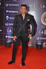 Abhijeet Sawant at GIMA Awards 2016 on 6th April 2016