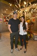 Bobby Deol at Gateway school art show in Mumbai on 6th April 2016