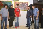 Bobby Deol, Sunny Deol at Gateway school art show in Mumbai on 6th April 2016