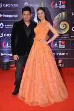 Divya Kumar, Bhushan Kumar at GIMA Awards 2016 on 6th April 2016