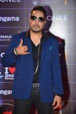 Mika Singh at GIMA Awards 2016 on 6th April 2016