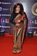 Monali Thakur at GIMA Awards 2016 on 6th April 2016