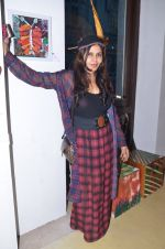 Nisha Jamwal at Gateway school art show in Mumbai on 6th April 2016