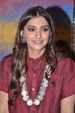 Sonam Kapoor at Gateway school art show in Mumbai on 6th April 2016