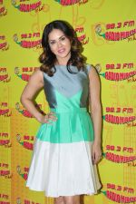 Sunny leone at Radio Mirchi on 6th April 2016