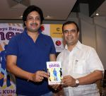 mukul & yogesh lakhani at the launch of book As Boy become Men written by Indian railway officer Mukul Kumar in Crosswords on 6th April 2016