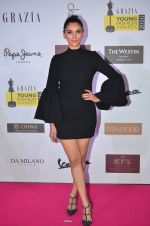 Aditi Rao Hydari at Grazia Young Fashion Awards 2016 Red Carpet on 7th April 2016